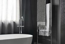 Towel rails.