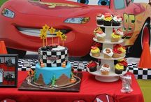 Boy's Disney Cars Themed Party / Cars    Disney   Mater   McQueen    boy   birthday   party   ideas   cake   decorations   themes   supplies   favor   invitation   cupcakes  cakepops