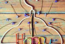 MUM's greetings hangers