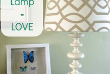 Lighten up the mood...lovely lamp collection
