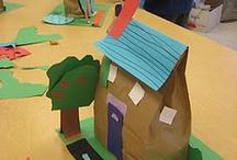 Haus bauen mit Kindern