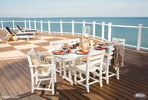 Outdoor Living Dream / My favorite outdoor living pictures and Trex decks. / by Carol Blevins