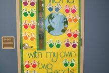 Door to the classroom