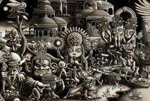 ilustrações / by vivi acatauassu