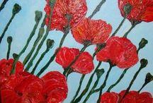 Bloemen - Hobbykunstschilder.nl / www.hobbykunstschilder.nl is de webshop voor hobbykunstschilders en kunstschilders die online willen exposeren en evt. verkopen.