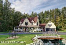 Alaska Luxury Real Estate / Luxury homes for sale in Alaska.  #alaskarealestate #luxuryhomes