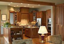 Light Oak Cabinets