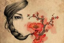 illustration / by Virginia Scott