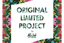 HALPH ORIGINAL / Original & Limited Project