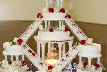 Fountain Wedding Cakes / by Diane Castro