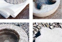 ting lavet i beton