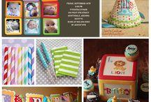 1st birthday ideas / by Staci Mouchett