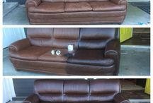 Leather couch redo