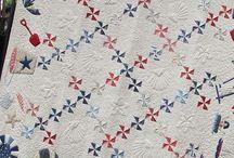 bleu-blanc-rouge quilts