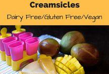 Frozen Treats / Brain-freeze inducing ice cream, Popsicles and other frozen goodies