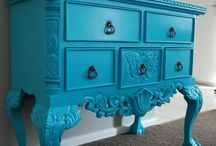 Furniture Makeovers / Gorgeous pieces given new life with a coat of paint, stain or wax