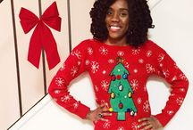 Ugly Christmas Sweater Party / Ugly Christmas Sweater party inspiration and ideas.