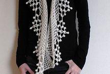 assessórios em crochet