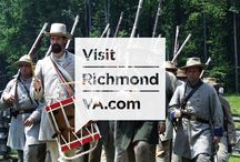 RVAHistory / It's no secret that the Richmond Region is at the epicenter of history in the United States. See it all here. / by VisitRichmondVA