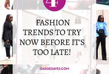 Style Tips and Tricks / Fashion tips and tricks, style tips to help you put together your next fashionable outfit and DIY fashion to try at home.