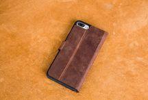 WALLET CASE iPhone 7 Brown