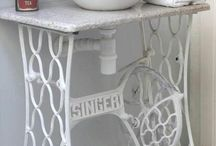 Ideas for Recycling of old sewing machines