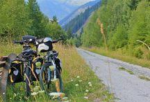 Bicicletas cargadas