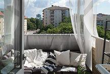 Balcony / porch / pergola