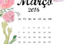 Calendários ano 2016