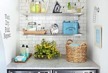 Laundry Rooms / Utility room, laundry room, whatever you call them, it's fantastic to have one and if they look like these, who wouldn't enjoy a bit of washing.