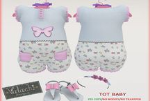 .:: Like an Angel::. For Babys / Clothes For MESH BABY AVATAR TOTSIPOP