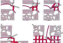 Unir piezas crochet.