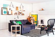 Sofás-cama | IKEA Portugal / São o 2 em 1 mais-que-perfeito e trabalham para o nosso conforto 24 horas por dia. Salvam visitas insesperadas, férias em família e serões que acabam em sonos. Para além disso, são perfeitos para casas mais compactas, espaços multifuncionais ou - porque não? - couchsurfing. O sofá-cama chegou para confortar e vencer. Recebam-no da melhor forma. #decoração #sofáscama #IKEAPortugal / by IKEA Portugal