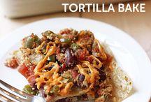 vegan foods w/ tortilla  / by Mary Vu