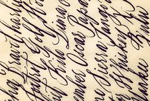 Calligraphy  / by pam garrison