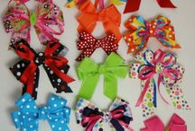 hair bows/clips