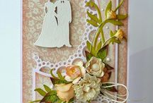 Wzory kartek - ślub