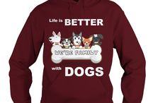 NEW DOG Hoodie 2017 LIFE IS BETTER WITH DOGS