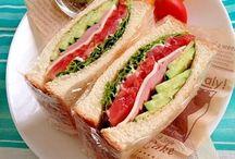 料理 サンドイッチ パニーニ