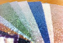 Bedazzle Your Space! / Enchanting Glass Beads truly glitters with the best flexibility in its kind for flawless installation. Free of PVC, formaldehyde, heavy metals and other harmful substances for healthy environment. For more information visit www.roosintl.com