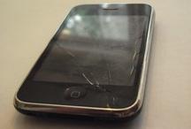 Simple repair for i-phone glass.