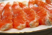 красная рыба (засол)