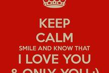 Keep calm...........