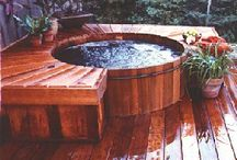 Small Pools /  Beautiful water features: outdoor spa ideas for lapping in leisure .Hot Tubs, Whirlpools, Saunas