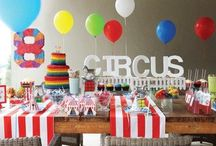 A Circus Birthday Party