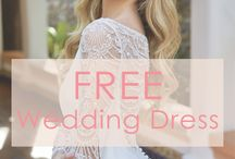 Wedding Dress GIVEAWAY / We're giving one lucky winner a FREE wedding dress! Winner will get to choose from our Jasmine Couture & Jasmine Collection lines. Giveaway is available to US residents only and will be open until 5/30/18.