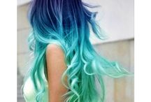 Cute Colorful Hairstyles