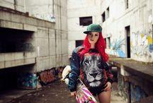 Skate girl look / Skate girl look by Brain Wash Clothing