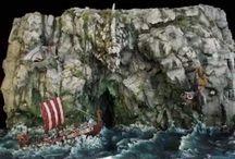 Viking Diorama
