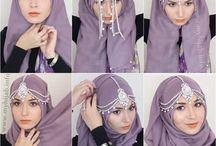 scarf pinning